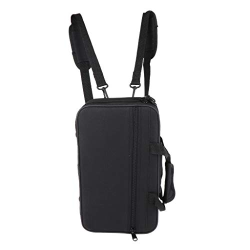 gazechimp Premium Trompete Tasche, Oxford Tuch Trompete Rucksack Gigbag mit verstellbarem Schultergurt und Tragegurt, Hohe Qualität