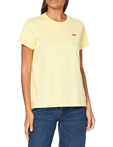 Levi's tee Camiseta, Lemon Meringue, M para Mujer