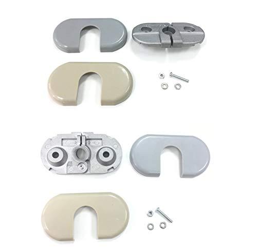 ZM Auto Parts Sun Visor Sunvisor Support Bracket & Cover Repair Kit Both Side...