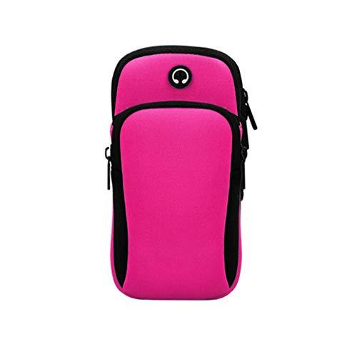 Sport Bracelet avec Fermeture éclair/Poignet Portefeuille - Running Mobile Arm Bag Hommes et femmes - Mini Sac Poignet Sac à Main Sacoche pour Jogging