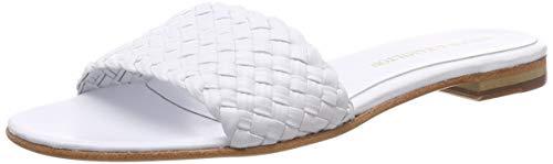 Melvin & Hamilton Damen Hanna 26 Pantoletten, Weiß (White Woven-Wht-LS-), 41 EU