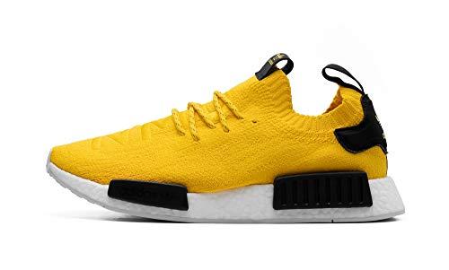 Adidas NMD R1 Primeknit - Zapatillas deportivas para hombre, color Amarillo, talla 43 1/3 EU