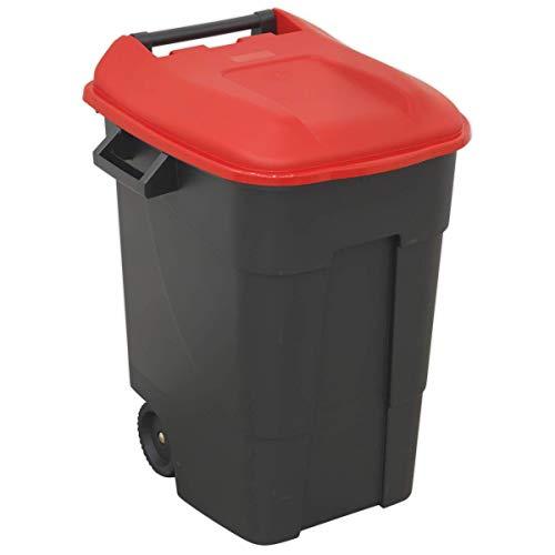 Sealey BM100R Mülltonne, mehrfarbig