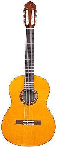Cuerpo de piano compacto Guitarra clásica, guitarra de madera 6 cuerdas de nylon, fácil de llevar,Yellow