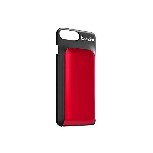 UINGKID Cosmétique de dos caché par cas unique de téléphone avec le correcteur et la crème de rouge à lèvres
