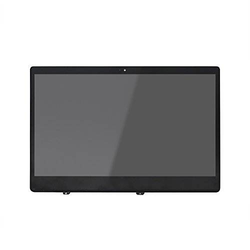 FTDLCD® 13.3 Zoll für Xiaomi Mi Notebook Air 13.3 LED Display Panel LTN133HL09-W LCD Screen Glas Cover Assembly mit Rahmen (Kein Touch)