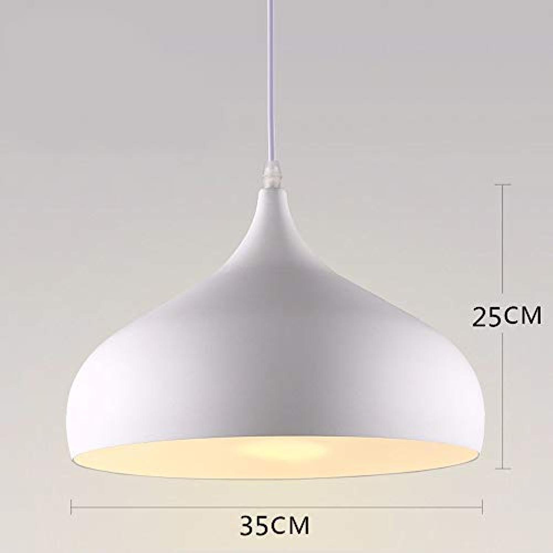 FuweiEncore Pendelleuchte Kronleuchter Retro Industrial Restaurant Aidmo Lampe Wei 35  25 cm Home Illumination