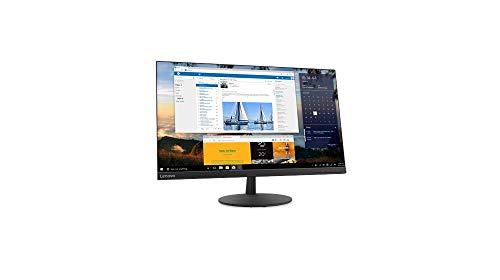 Lenovo L27q-30 68,58 cm (27 Zoll, 2560x1440, WQHD, 75Hz, WideView, entspiegelt) Monitor (HDMI, BildschirmPort, 4ms Reaktionszeit) schwarz