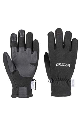 Marmot M. Europe, it sporting goods, 9IIY5 Wm's Infinium Windstop Glove, Guanti Pile, Caldi, Antivento, Idrorepellenti, per Esterno, Ciclismo, Corsa, Outdoor Donna, Black, XS