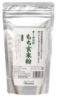 オーサワのもち玄米粉 (300g×30個)×1ケース           JAN:4932828003382