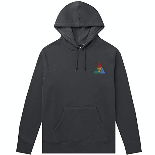 HUF, Sweat peak sportif hood, Black - M
