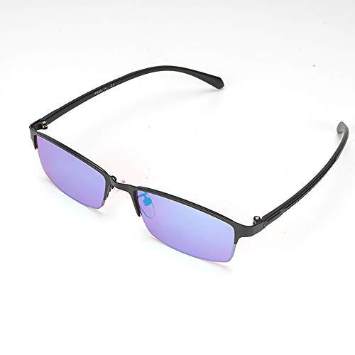 ZUEN Farbenblind Brille Unisex Blinde Gläser Rote Und Grüne Blindheit Farbe Sehbehinderung Weak Unisex Brille,A
