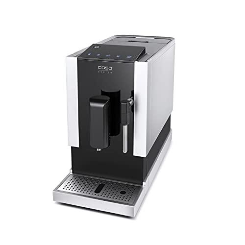 CASO Café Crema One - Design Kaffeevollautomat, innovatives Heizsystem, extra leises Edelstahl-Kegelmahlwerk, für Espresso, Cappuccino, Latte Macchiato, u.v.m