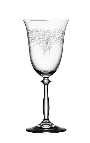 Bohemia Cristal 093/006/012 Romance Verre à vin 350 ml 6 pièces