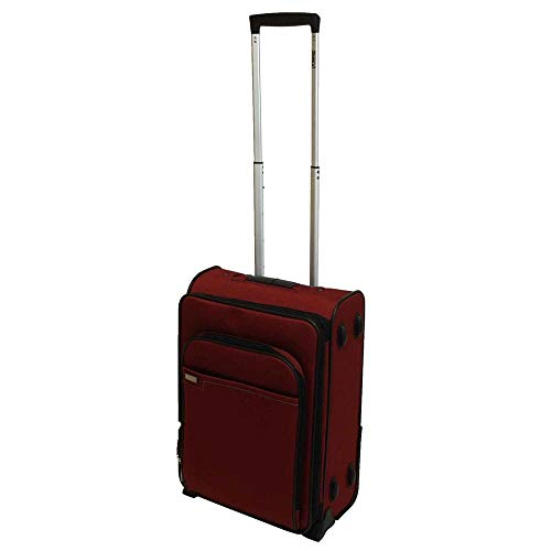 Stratic Pluto Red 2-Wheel Trolley S 55 cm