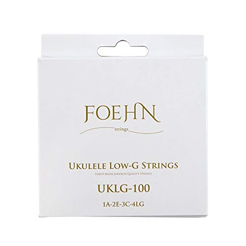 FOEHN UKLG-100 Low-G ソプラノ/コンサート用 Low-G ウクレレ弦×3セット
