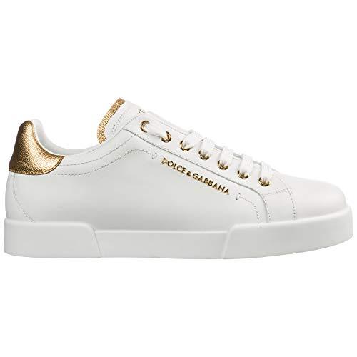 Dolce&Gabbana Sneakers Portofino Uomo Bianco 42 EU