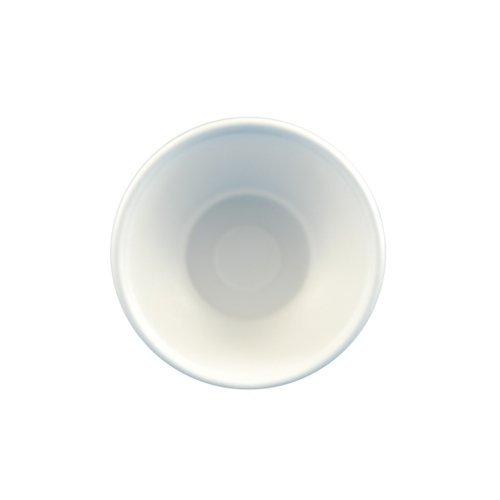"""50 Schalen, Zuckerrohr \""""pure\"""" 200 ml Ø 11,2 cm 4,2 cm weiss"""