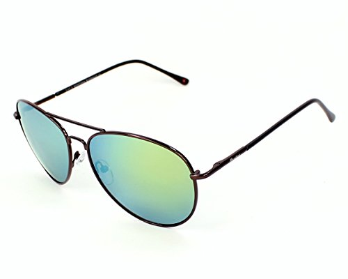 Montana Eyewear Sunoptic MS95I Zonnebril in koffie, inclusief etui