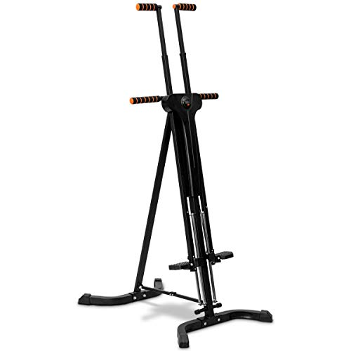 COSTWAY 2 in 1 Vertical Climber | Stepper, Folding...
