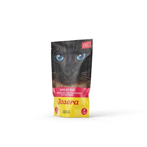 Josera Filet Huhn mit Rind   16 x70g Katzenfutter nass