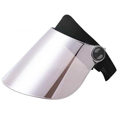 LYN Face Shield Honkbal Fishmen Hoed Beschermende Facial Veiligheid Brede Visor Full Face Screen Neck Oor Bescherming Stofdichte Winddichte Outdoor Riding Vissen