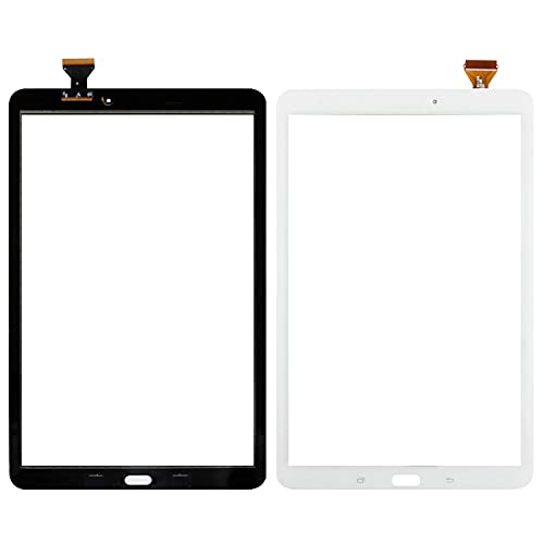 SRJTEK Compatible para Samsung Galaxy T560 T561 T561 Piezas de repuesto SM-T561 SM-T560NU Sensor de Pantalla Táctil Kits Digitalizador (Blanco Sin Marco)