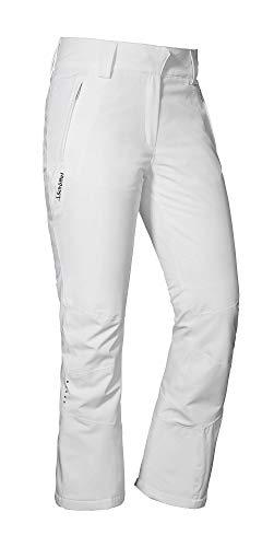 Schöffel Damen Davos2 Lange Hose, Bright White, 34