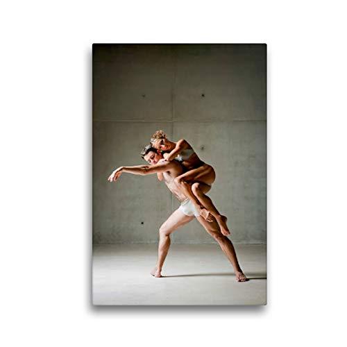 Haz una pausa de bailarina en la espalda de tu pareja., 30 x 45 cm