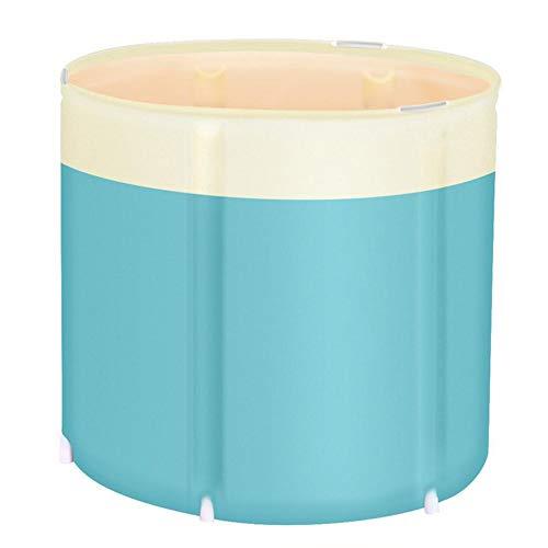 Yoouo Faltbare Badewanne Erwachsene Badefass Mobile Badewanne Mobile Dusche Tragbare Badewanne Freistehende Klappbare Whirlpool-Badewanne Für Den Außenbereich