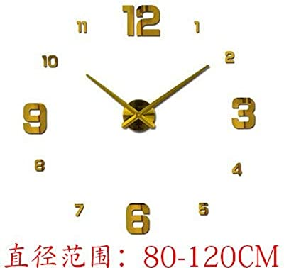 Luoshangqing Easy to Read Hanging Wall Clock Indoor European Style Living Room Wall Clock Watch Art