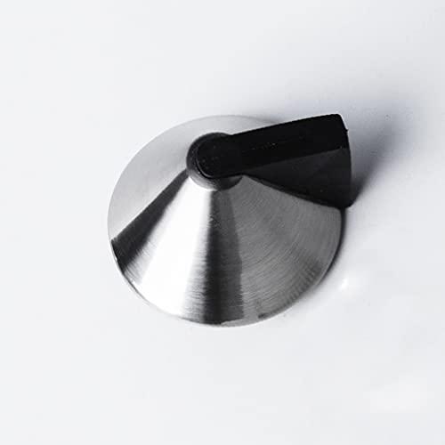 JJZXD Topes de Las Puertas Tapa de Goma Puerta Tapón Tapón Protector Captura con Tornillos Mini Puerta Tampón Hardware Piso de Pared Puerta Montada