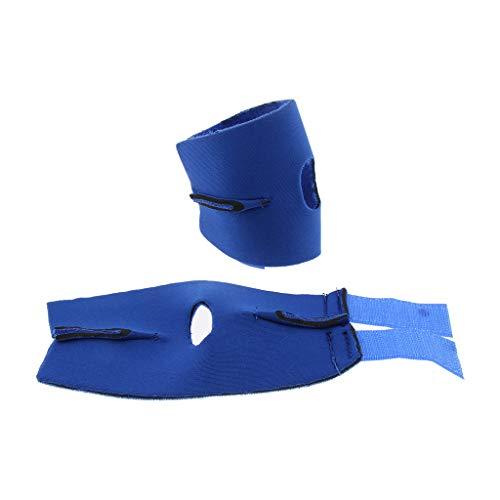 non-brand Sharplace Paire Attelle pour Articulation Patte Arrière pour Chien, Bandage Thérapeutique de Hanche pour Canins - M