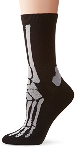 SILLY SOCKS - chaussettes squelette - Noire
