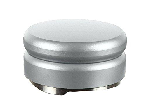 scarlet espresso | Distributor »TRE« für Barista; zur perfekten Extraktion mit Siebträgermaschinen; 58 mm; verschiedene Farben; schwere Ausführung (Silber)