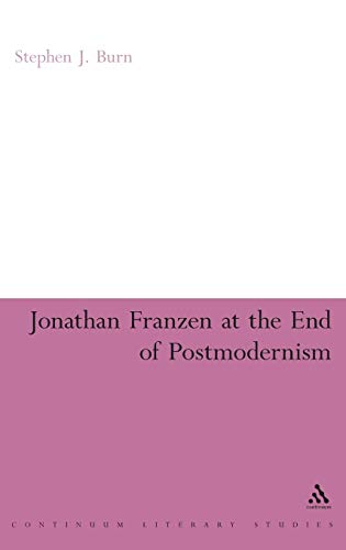 Jonathan Franzen at the End of Postmodernism