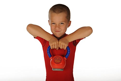 WOD Toys Kettle Kid Kettlebell Red - Safe, Durable Toy for Kids Fitness