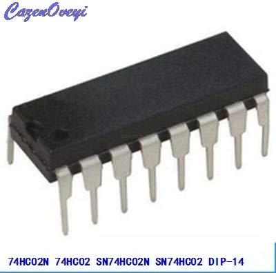 10 teile/los 74HC02N 74HC02 SN74HC02N SN74HC02 DIP-14 Logik Tore QUAD 2-INPUT NOR GATE neue original