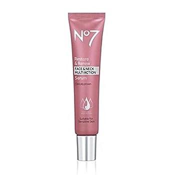 No7 Restore & Renew Face & Neck Multi Action Serum - 1oz