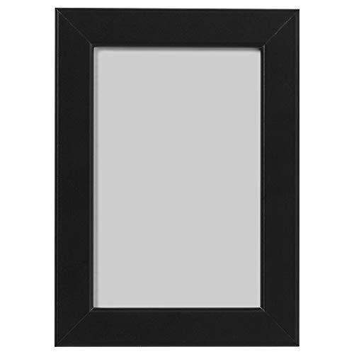 Ikea Fishbo Bilderrahmen, A4, 21 x 30 cm, Schwarz, 4 Stück