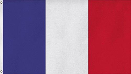 Flagge Frankreich Fahne Frankreich 150x90cm 100% Polyester von Flaggenguru®