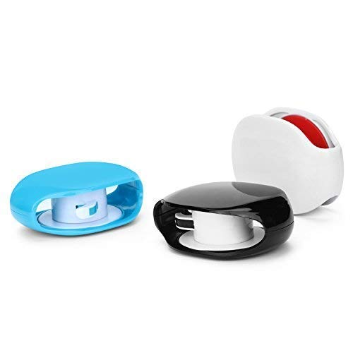 3 Sets Automatic Cord Winder, Cable Organizer for Headphones, USB Cables, Phone, Tablet and Reader Chargers