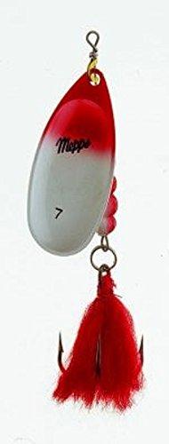 Mepps Aglia Extra Gross Spinner rot/Weiss Gr 7
