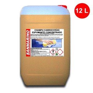 SANMARINO CHAMPÚ CARROCERÍAS ESPUMANTE CONCENTRADO 12 L.
