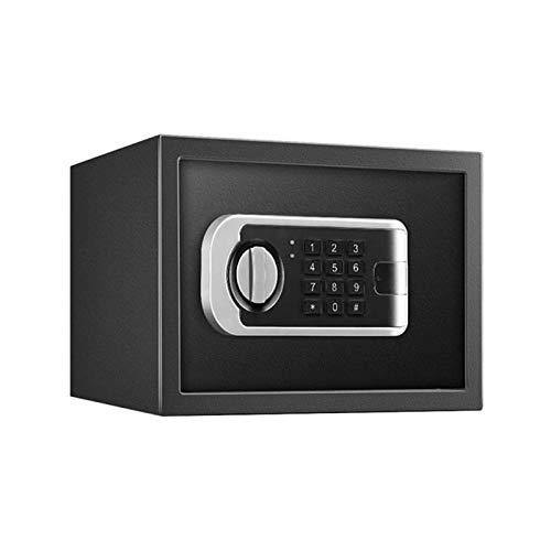 SMLZV Cajas fuertes, Caja de seguridad, cajas de seguridad, caja de seguridad, caja de dinero, caja fuerte seguridad interior caja de bloqueo electrónico - caja fuerte con anulación mecánica, combinac