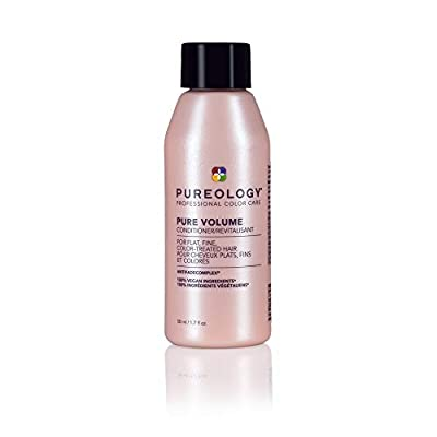 Pureology Pure Volume Conditioner | For Flat, Fine, Color-Treated Hair | Restores Volume & Movement | Sulfate-Free | Vegan