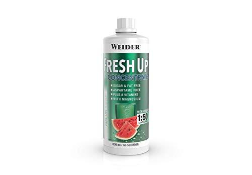 Weider Fresh Up Getränkekonzentrat, Melone, zuckerfrei mit Vitaminen und Mineralstoffen, 1 Liter