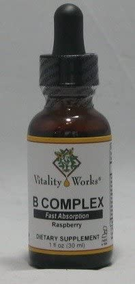 B Complex Vitality Works New product! New type 1 Lowest price challenge Liquid oz