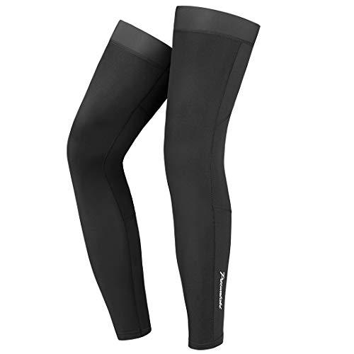 Przewalski Cycling Leg Sleeve, Calf Compression Bike Leg Warmer Fleece, Bicycle MTB Riding Full Long Sleeves Leg Sleeves