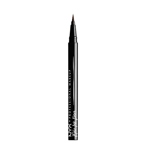 NYX Professional Makeup Epic Ink Eye Liner, Filzstift, Wasserfest, Vegane Formel, Braun
